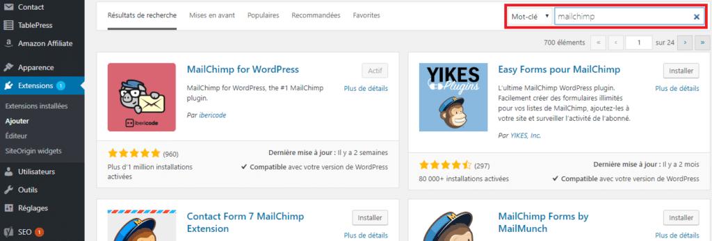 Trouver un plugin WordPress compatible avec son auto répondeur