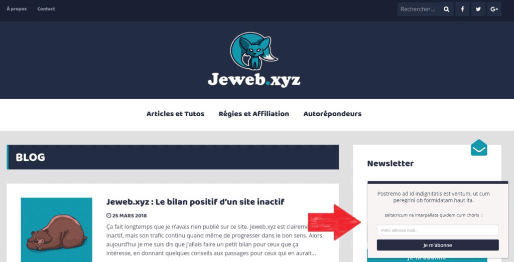 Utiliser une Scroll Box pour augmenter son nombre d'abonnés
