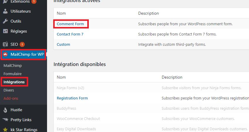 """Ajouter l'option """"s'abonner à la newsletter"""" dans les formulaires de commentaires"""